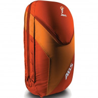 ABS Vario 18 Zip On, väska för ryggsäck, röd/orange