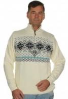 Kama Isländska sweater m. Windstopper, vit