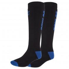 4F 2 par billige skistrømper, herre, dark blue