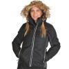 4F Marina skijakke, dame, sort