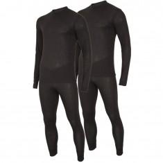 4F/Outhorn 2 sæt skiundertøj, herre, sort