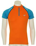 4F Thermodry  cykeltröja, orange, herr