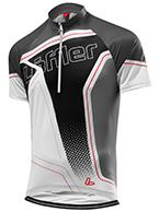 Löffler Bike-Trikot Performance Hz Race Aero cykeltröja, svart, herr