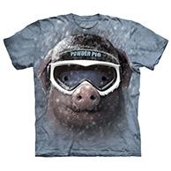 Powder pig - T-shirt