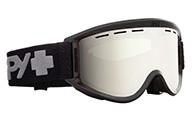 Spy+ Getaway Ski Goggle, Bronze Silver Mirror, svart