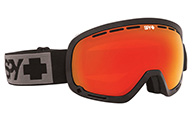 Spy+ Marshall Ski Goggle,  Bronze Red Mirror, svart