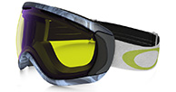 Oakley Canopy  Burned Out Gunmetal, High Intensity Yellow