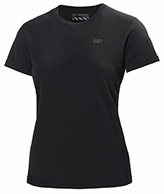 Helly Hansen W Training T-Shirt, dam, kortärmad, svart