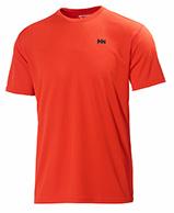 Helly Hansen Training T-Shirt, herr, kortärmad, röd