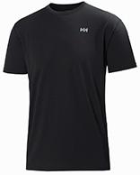 Helly Hansen Training T-Shirt, herr, kortärmad, svart