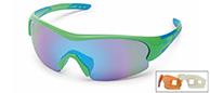 Demon Fuel sportsglasögon, grön, 3 linser