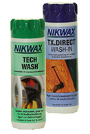 Nikwax Tech Wash + TX Direct Wash-In 2x300ml