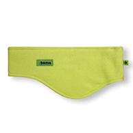 Kama pannband, bred, Tecnopile fleece, grön