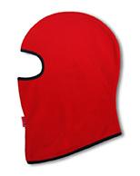 Kama Kids Fleece Skidmask, för barn, röd
