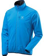Haglöfs Mistral Softshell Jacket, blå
