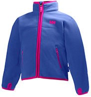 Helly Hansen K Fleece Jacket till barn och junior, purpur