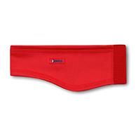 Kama softshell pannband, brett, röd