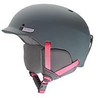 Smith Gage skidhjälm, grå/pink