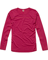 Haglöfs Actives Merino II Roundneck Women, röd