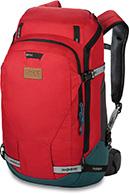 Dakine Womens Heli Pro DLX 24L, röd