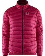 Haglöfs Essens III Down Jacket Women, vinröd