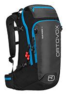 Ortovox Tour Rider 30, tur/skid ryggsäck, svart