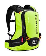 Ortovox Free Rider 18, skid ryggsäck, grön