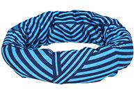 4F lång halskrage/bandana med fleece foder