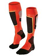 Falke SK4 skidstrumpor, män, orange