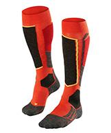 Falke SK2 skidstrumpor, män, orange