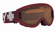 Spy+ Getaway Ski Goggle, Matte Burgundy