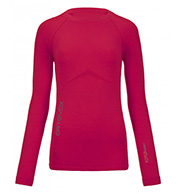 Ortovox Merino Competition Long Sleeve W, röd