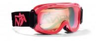 Demon Magic skidglasögon, barn, röd