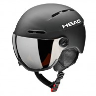 HEAD Knight skidhjälm m. visir, svart