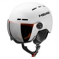 HEAD Knight skidhjälm m. visir, vit