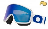 Out Of Shift skidglasögon, white/blue