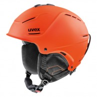 Uvex p1us skihjelm, orange