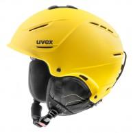 Uvex p1us skihjelm, gul
