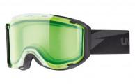 Uvex Snowstrike, skidglasögon, Glow Green