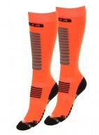 Seger Zone, herr skidstrumpor, 2-par, orange