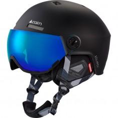 Cairn Eclipse Rescue, skihjelm med visir, mat sort blå