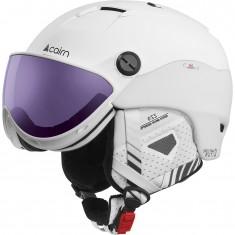 Cairn Spectral Visor Magnet 2 IUM, skihjelm med visir, white plum