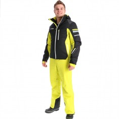 Deluni skisæt, herre, sort/gul