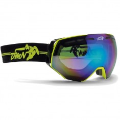 Demon Alpiner skigoggle, gul