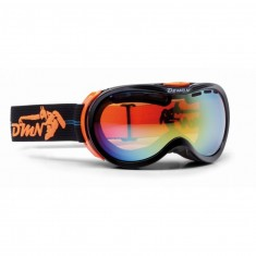 Demon Bubble skigoggle OTG, Sort/Orange