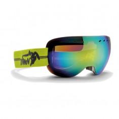 Demon Overview skibriller, metallic grå