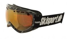 Demon Raptor skidglasögon OTG, Carbon - Skisport edition