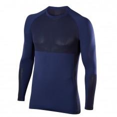 Falke Men Long Sleeved Shirt, mørkeblå