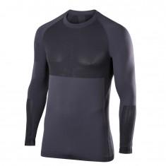 Falke Men Long Sleeved Shirt, mørkegrå