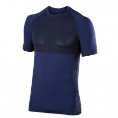 Falke Men Short Sleeved Shirt, mørk blå